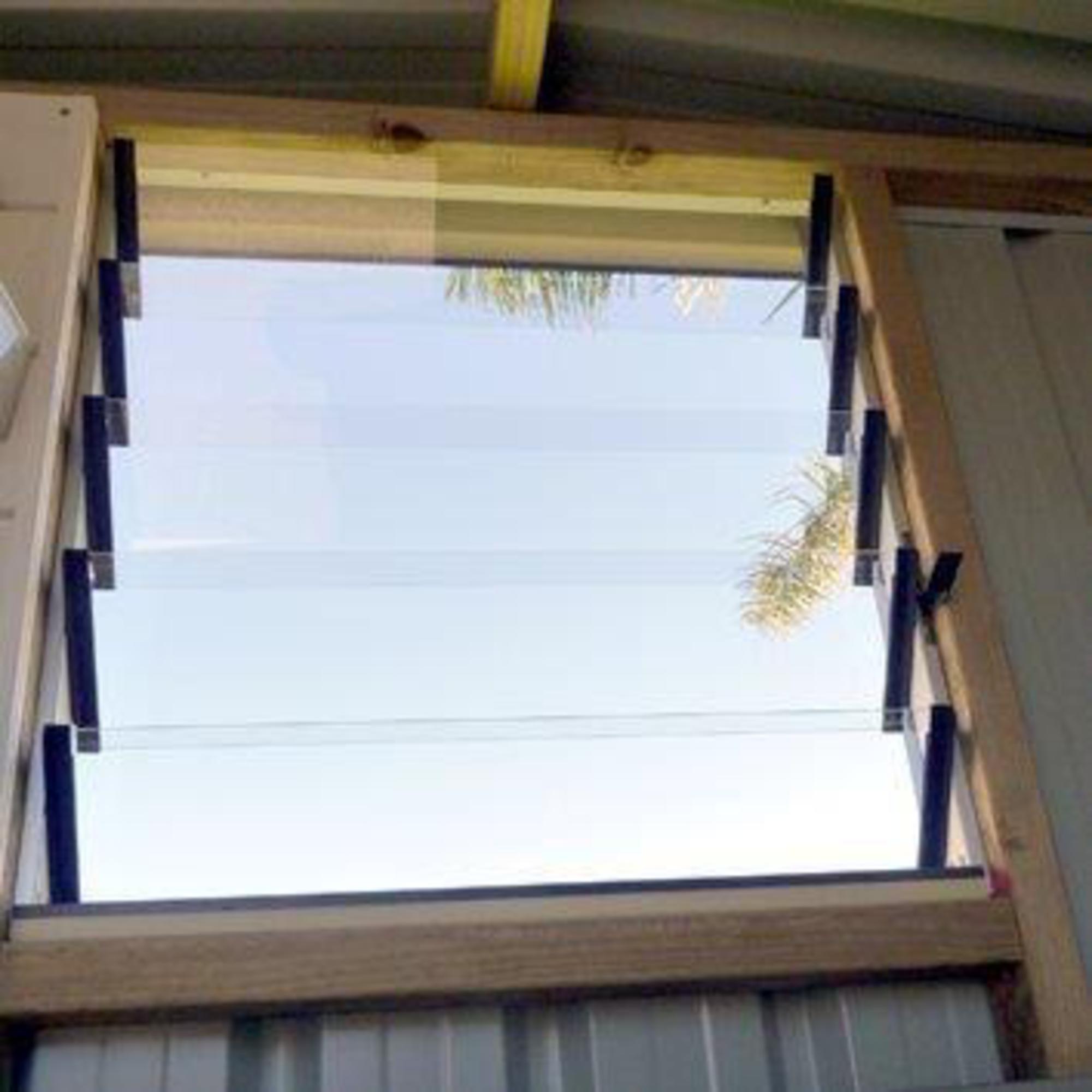 5 Blade Aluminium Window